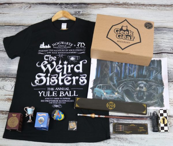 GeekGear Wizardry AUGUST 2020 Box