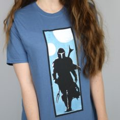 Exclusive Mandalorian Short Sleeved T-Shirt (Blue)