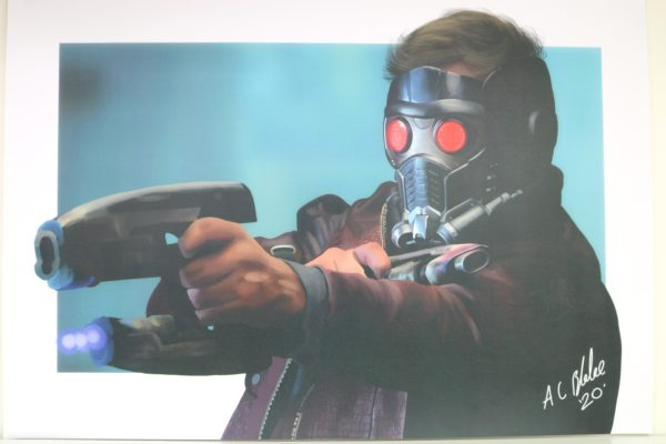 Exclusive Star-Lord Community Artist Print