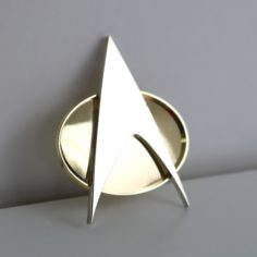 Exclusive Star Trek TNG Comms Badge Pin