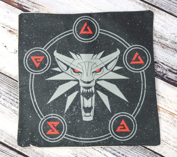 Exclusive Witcher Cushion Cover