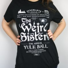Exclusive Christmas Ball Concert Short Sleeved T-Shirt (Black)