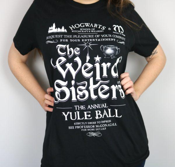 Exclusive Christmas Ball Concert Short Sleeved T-Shirt (Black)