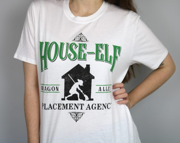 Exclusive Elf Agency Short Sleeved T-Shirt (White)