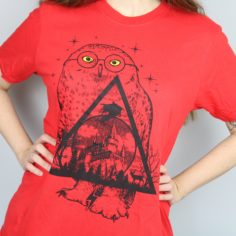 Exclusive Wizardry Reference Short Sleeved T-Shirt (Red)