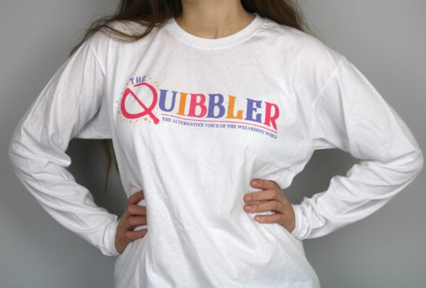 Exclusive Wizarding Tabloid T-Shirt Long Sleeved (White)