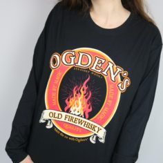 Exclusive Wizarding Whisky Long Sleeved Shirt (Black)