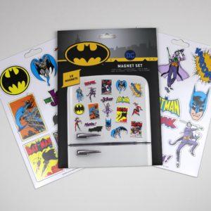 Licensed DC Comics Batman Magnet Set