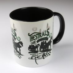 Licensed and Exclusive Thestrals at Hogwarts Mug