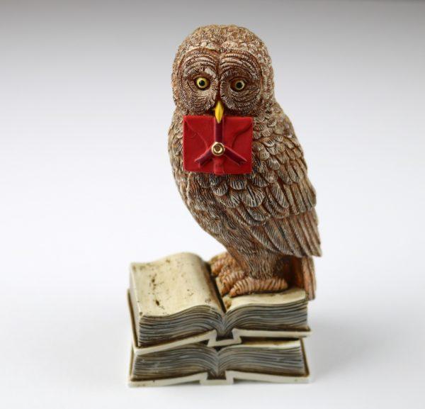 Exclusive Wizardry Owl Post Statue