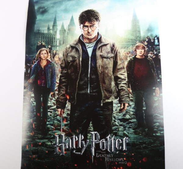 Licensed and Exclusive Harry Potter Movie Poster Print