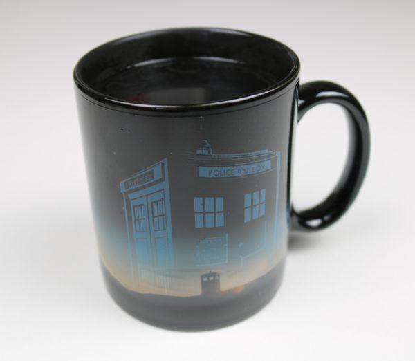 Licensed Premium Heat Changing Doctor Who Mug