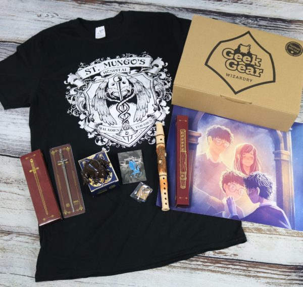 GeekGear Wizardry SEPTEMBER 2020 Box