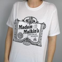 Exclusive Magical Robe Shop Short Sleeved T-Shirt (White)