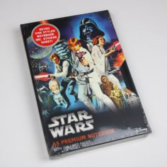 Licensed Premium Star Wars VHS Notebook