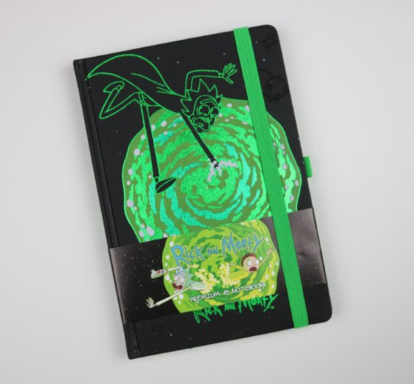 Licensed Premium Rick and Morty Notebook