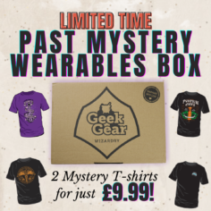 Mystery Wearable SALE – 2 T-shirts for £9.99!
