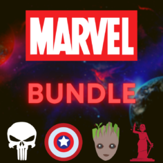 BUNDLE: Marvel I