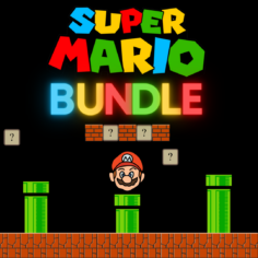 BUNDLE: Super Mario Prints