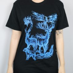 Animal Projections Short Sleeved T-Shirt (Black)