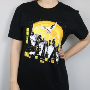 Exclusive Christmas Wizardry Village Short Sleeved T-Shirt (Black)