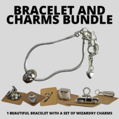 BUNDLE: Bracelet and Charms