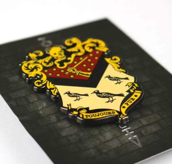 Exclusive Wizardry Ancient Family Crest Pin