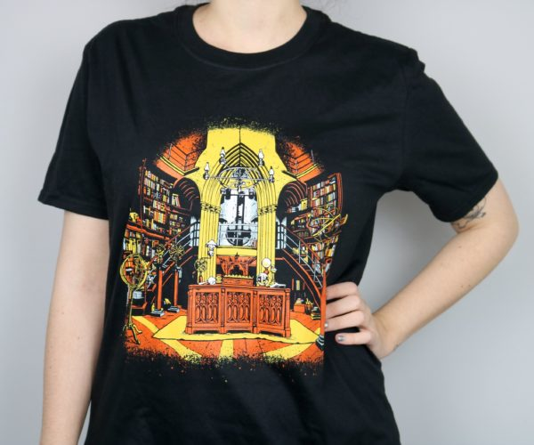 Exclusive Wizardry Headmaster's Office Short Sleeved T-Shirt