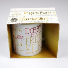 Licensed and Exclusive Dobby is a Free Elf Mug