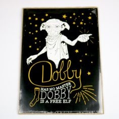 Licensed and Exclusive Dobby the Elf Print - A4