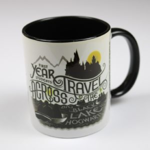 Licensed and Exclusive Hogwarts First Years Black Lake Mug