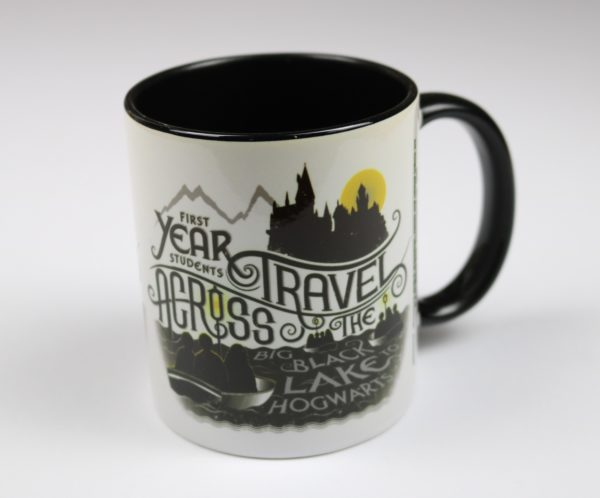 Licensed and Exclusive Hogwarts First Years Black Lake Mug