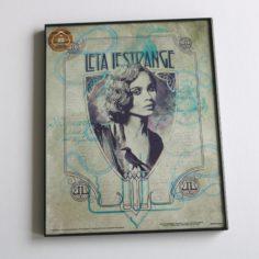 Licensed and Exclusive Leta Lestrange Framed Print