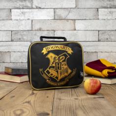 Harry Potter Lunch Bag (Basic Style) Black Hogwarts