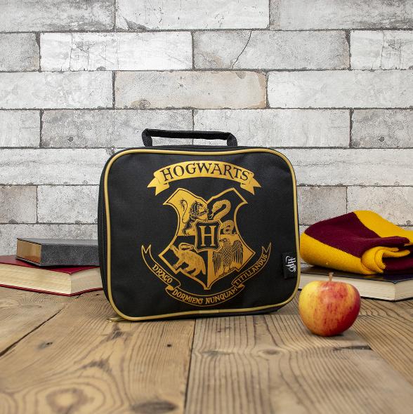 Hogwarts Basic Lunch Bag (Black)