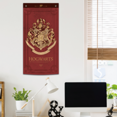 Harry Potter Wall Banner (Burgundy)