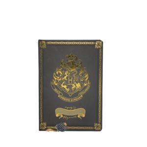 Hogwarts Crest Notebook (Black)