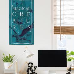 Hogwarts Magical Creatures Banner