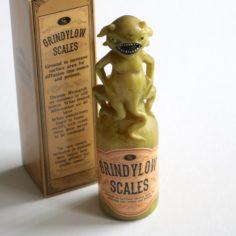 Grindylow Scale Potion Bottle