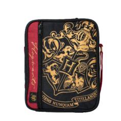 Harry Potter Deluxe 2 Pocket Lunch Bag (Black) – Crest