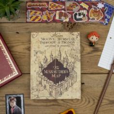 Harry Potter Marauder's Map A5 Notebook