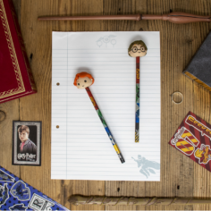 Harry Potter 3D Pencil Eraser Toppers (Set)