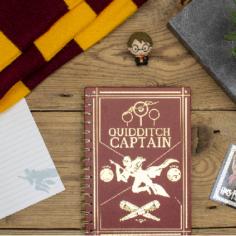 Quidditch Spiro Notebook