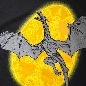 Wizardry Dragon Egg Protector Long Sleeve T-Shirt (Black)