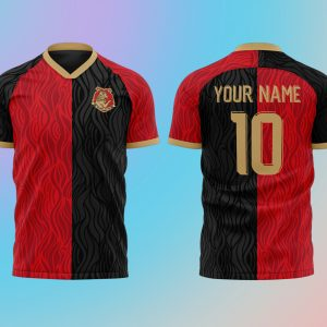 Personalised Wizardry Sports Team Shirt – Red